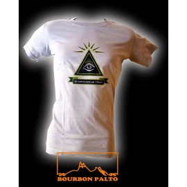 """Tee-shirt Bourbon Palto """"Samoussa"""". Ile de La Réunion"""