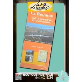 Carte IGN de La Réunion. Touristique et routière.