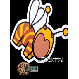 "Sticker grand format bee ""Gouzous"" de Jace 2017."