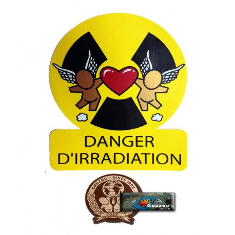 "Les stickers grands formats de Jace: "" Radioactivity"""