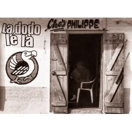 """Les posters d'Edgar La Réunion """"Chez Philippe"""""""