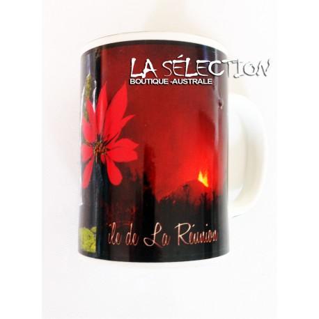 Mug Ile de La Réunion. Vaisselle & déco Drapeaux Réunionnais