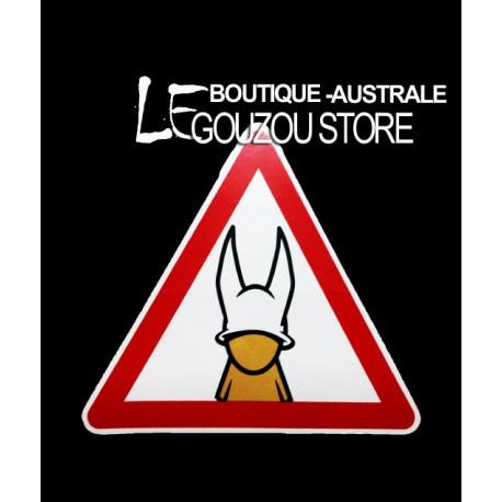 """Les stickers grands formats de Jace: """" La gouzette"""""""