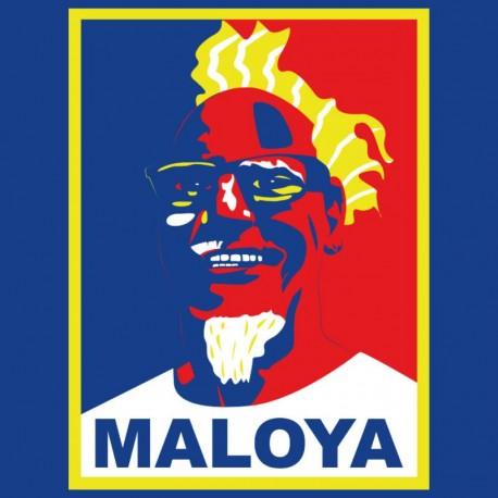 """Tee-shirt Bourbon Palto """"Maloya-waro"""". Ile de La Réunion"""