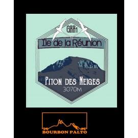 Tee-shirt Bourbon Palto Ile de La Réunion Piton des neiges.