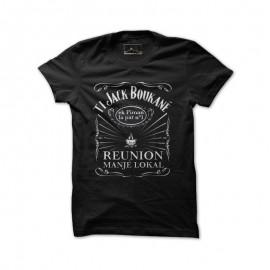 """Tee-shirt Bourbon Palto """"Ti Jack Boucané""""."""