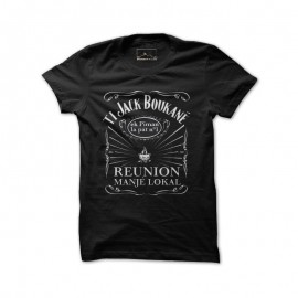 Tee-shirt Bourbon Palto noir Ti Jack Bouc