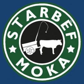 """Tee-shirt Bourbon Palto """"Starbef Moka"""". Ile de La Réunion"""