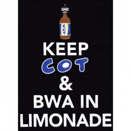 """Tee-shirt Bourbon Palto """"Keep Cot"""". Ile de La Réunion"""