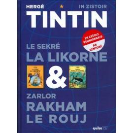 Tintin 2 livre en un . D'Hergé