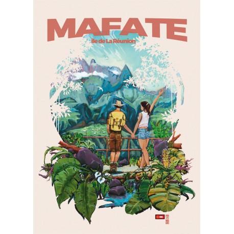 Affiche Ile de La Réunion: Mafate Miguel