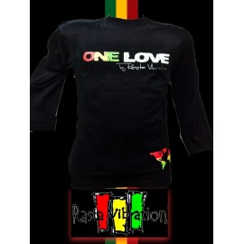 Tee shirt ML-one love- taille S