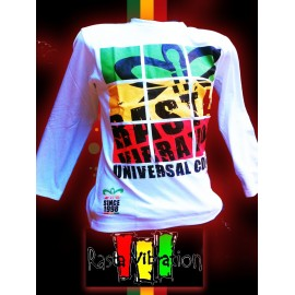 Tee shirt Rasta Vibration ML- king
