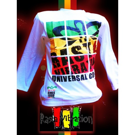 Tee shirt Rasta Vibration ML- king universal color-