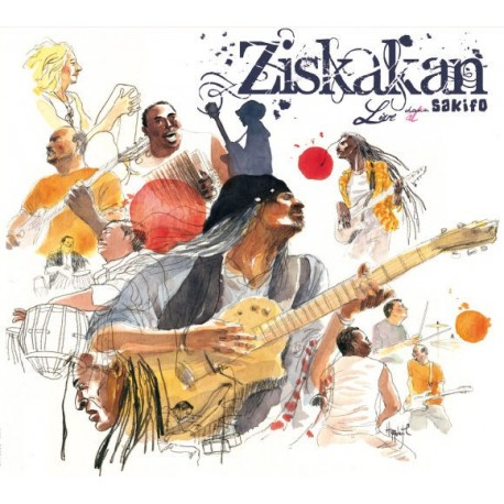 Ziskakan Live at Sakifo Inclus DVD bonus