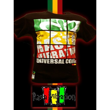 Le tee shirt screen de Rasta Vibration