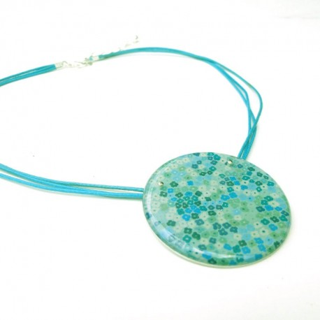 """Collier """"Liberty blue 45"""""""
