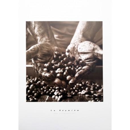 """Les posters d'Edgar La Réunion """"Café péi"""""""