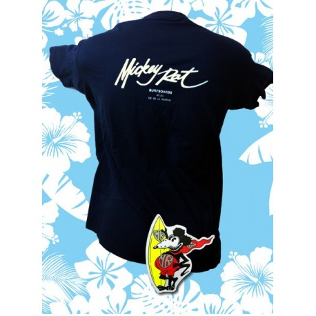 Tee-shirt Mickey Rat Mickey Signature