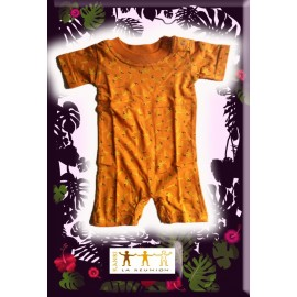 "Combi short Kaniki orange ""piments"""