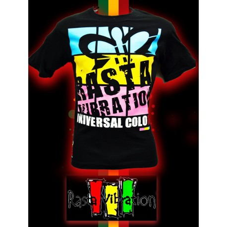 Tee shirt MC-Rasta vibration screens- 2011