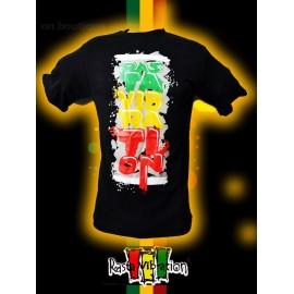 Tee shirt Rasta vibration Vibs