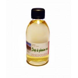 Sirop de Géranium 200 ml de la plaine des Grègues