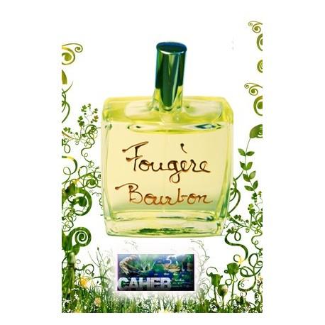 """Parfum homme """"Fougère Bourbon"""" de l'île de La Réunion."""
