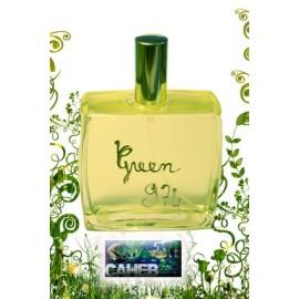"""Parfum homme """"Green 974"""" de l'île de La Réunion."""