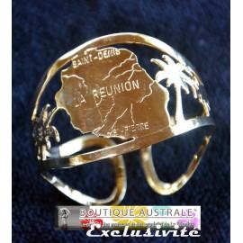 Le bracelet plaqué or 3 microns Ile de La Réunion