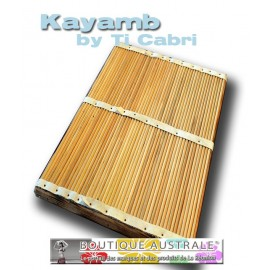 Kayamb format scène pour jeu Maloya et séga.
