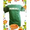 "Tee-shirt Impulsion vert anglais"" Ecosystème-reunion"""