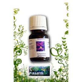 Parfum d'ambiance de violette en 10ml