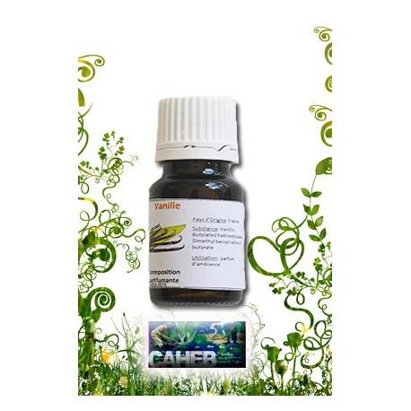 Parfum d'ambiance de vanille en 10ml