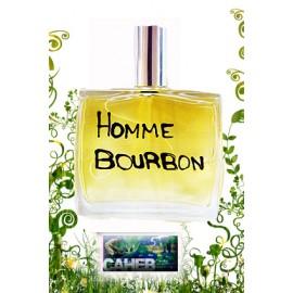 """Parfum homme """"Homme Bourbon"""" de l'île de La Réunion."""