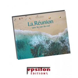 La Réunion, une île vue du ciel