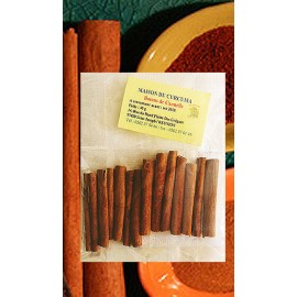 Sachet 40grs de bâtons de canelle de la plaine des Grègues