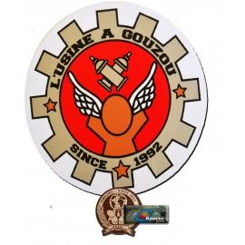 """Les stickers grands formats de Jace: """" l'usine à Gouzou"""""""