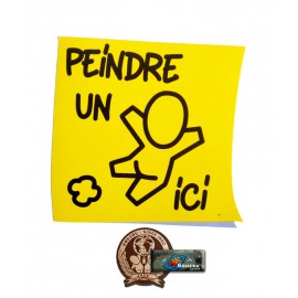 "Les stickers petits formats de Jace: "" Le post-it"""