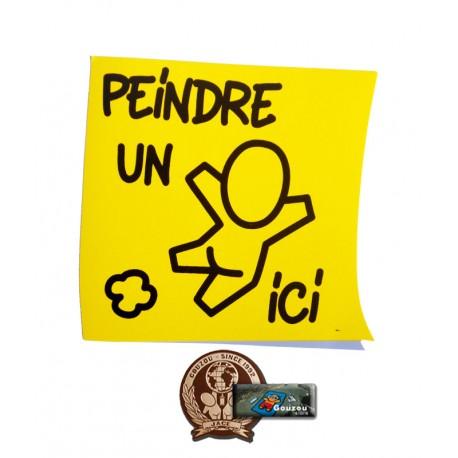 """Les stickers petits formats de Jace: """" Le post-it"""""""