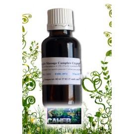 Huile de massage Cyprès Cryptoméria en 100 ml