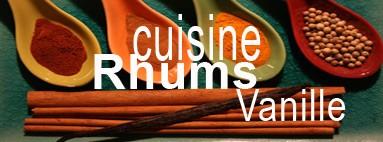 Epices, vanille et cuisine